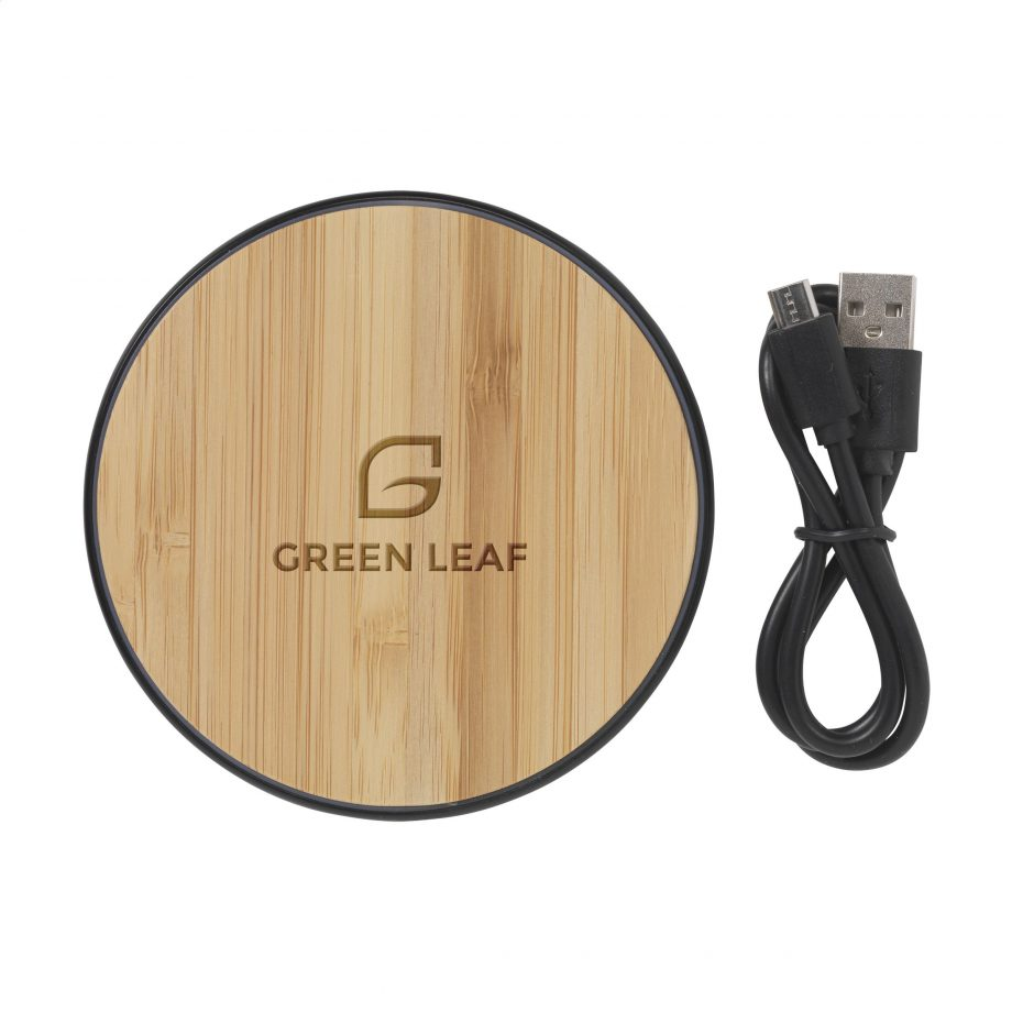 Bamboo 10w wireless charger 1