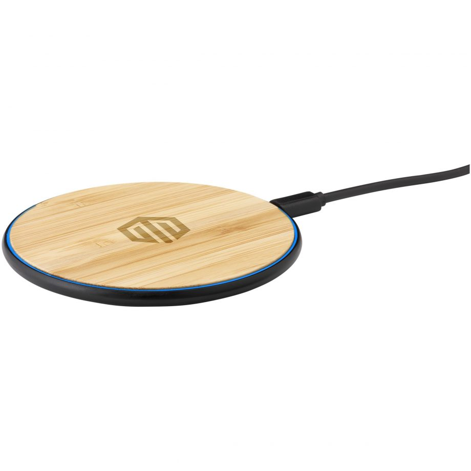 Bamboo 10w wireless charger